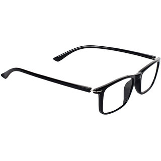 Zyaden Black Rectangle Spectacle Frame FRA-436