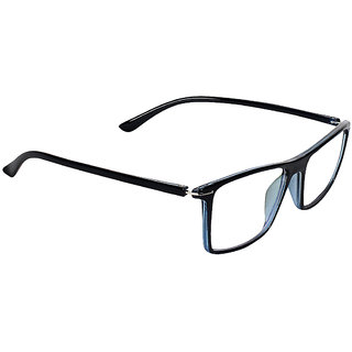 Zyaden Blue Rectangle Spectacle Frame FRA-424