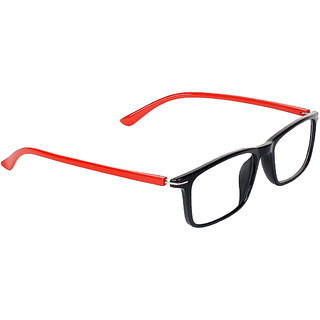Zyaden Black Rectangle Spectacle Frame FRA-438