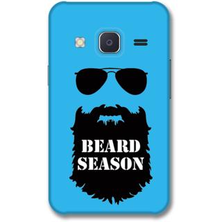 Samsung J2 2015 Designer Hard-Plastic Phone Cover from Print Opera -Beard season