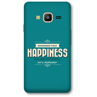 Samsung Z2 2016 Designer Hard-Plastic Phone Cover from Print Opera -Happiness quote