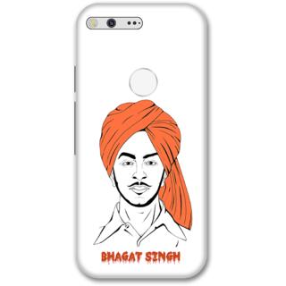 Google pixel xl Designer Hard-Plastic Phone Cover from Print Opera -S. Bhagat singh