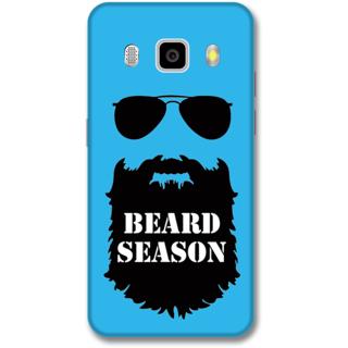 Samsung J5 2016 Designer Hard-Plastic Phone Cover from Print Opera -Beard season