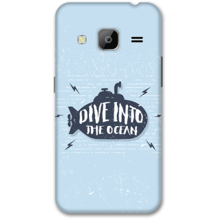 Samsung J3 2016 Designer Hard-Plastic Phone Cover from Print Opera -Dive into the ocean