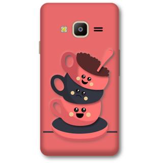 Samsung Z2 2016 Designer Hard-Plastic Phone Cover from Print Opera -Tea cups