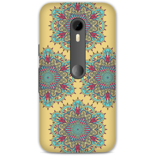 Moto G Turbo Designer Hard-Plastic Phone Cover from Print Opera -Floral design