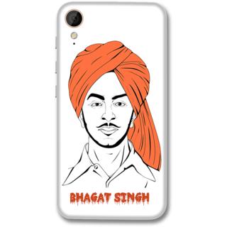 HTC 830 Designer Hard-Plastic Phone Cover from Print Opera -S. Bhagat singh