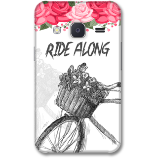 Samsung J2 2015 Designer Hard-Plastic Phone Cover from Print Opera -Ride along