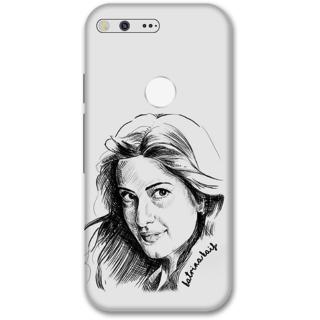 Google pixel Designer Hard-Plastic Phone Cover from Print Opera -Katrina kaif