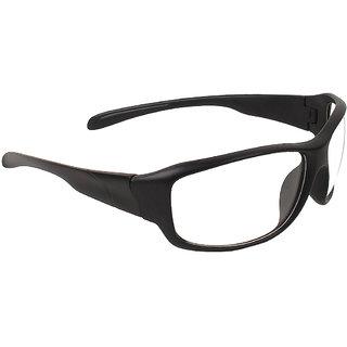 Zyaden Clear Wrap Around Sunglasses ( NV-40 )