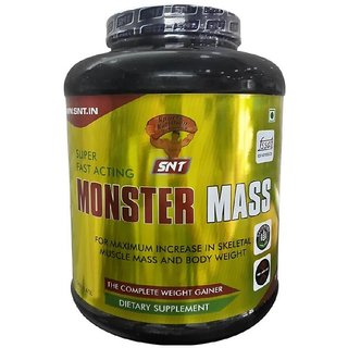 SNT Monster Mass - 2.5 kg. - Choc. Flavour
