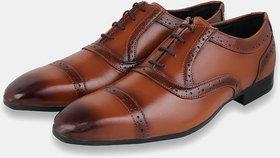 Foax Men's Brown Oxfords Shoe
