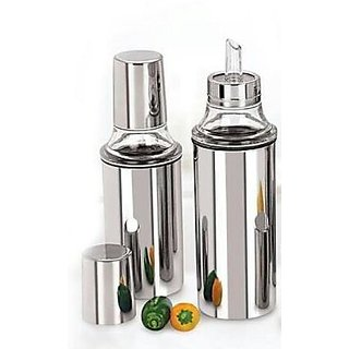 Stainless Steel Oil Dispenser with airtight Cap -1000 ml