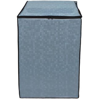 Dream Care Sky Blue Printed Washing Machine Cover for Fully Automatic Top Loading 7kg to 8.5kg