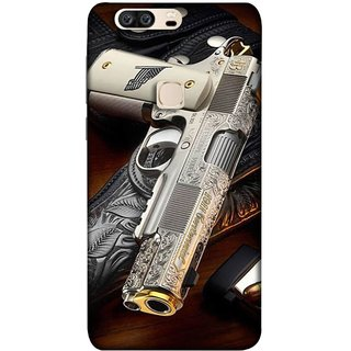 FUSON Designer Back Case Cover For Huawei Honor V8 (Gun Pouch Holder Loading Bullets Killing Murders )