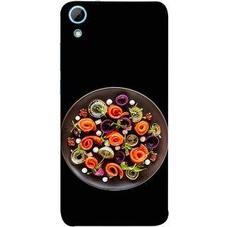 FUSON Designer Back Case Cover For HTC Desire 830 :: HTC Desire 830 Dual Sim (Vegetables Mashrooms Kitchen Best Food Tasty)