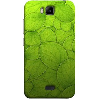 FUSON Designer Back Case Cover For Huawei Honor Bee :: Huawei Honor Bee Y5c (Leaf On Water Ajwain Leaves Beautiful Nice )