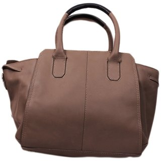 4304e54cc1 Buy SS Leathers Pain Grey Ladies Hand Bag Online - Get 15% Off