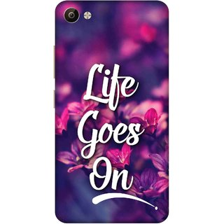 Print Opera Hard Plastic Designer Printed Phone Cover for Vivo V5 Plus Life goes on floral
