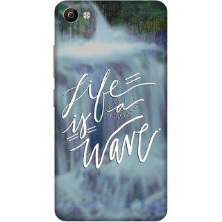 Print Opera Hard Plastic Designer Printed Phone Cover for Vivo V5 Plus Life is a wave