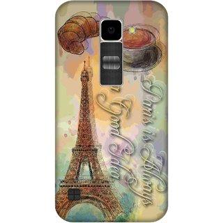 Print Opera Hard Plastic Designer Printed Phone Cover for Lg K10 Eiffel tower art