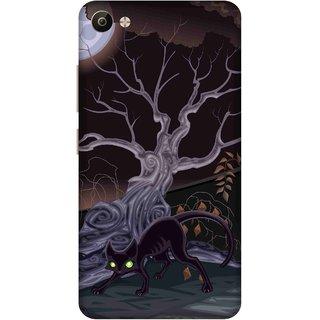 Print Opera Hard Plastic Designer Printed Phone Cover for Vivo V5 Plus Perfect halloween background
