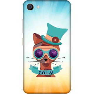 Print Opera Hard Plastic Designer Printed Phone Cover for Vivo X7 Perfect steampunk cat