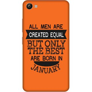 Print Opera Hard Plastic Designer Printed Phone Cover for Vivo V5 Plus Best man born in january
