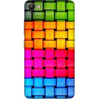 Print Opera Hard Plastic Designer Printed Phone Cover for Vivo V5 Plus Colorful cloth pattern