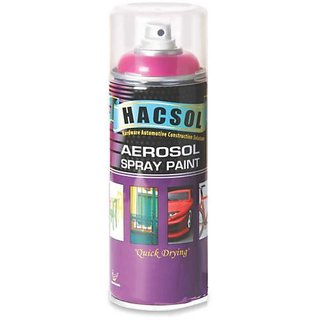 Multi Purpose Lacquer Hacsol Aerosol Paint Spray For Car/Bike- Dark Brown GP 06