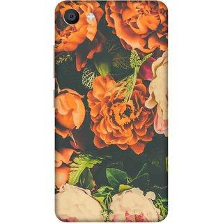 Print Opera Hard Plastic Designer Printed Phone Cover for Vivo X7 Night flowers