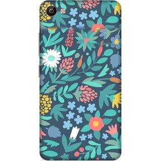 Print Opera Hard Plastic Designer Printed Phone Cover for Vivo V5 Plus Artistic green leaves