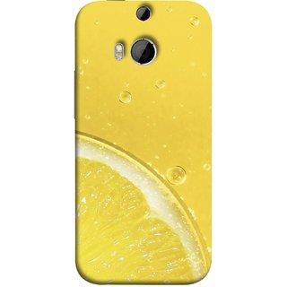 FUSON Designer Back Case Cover For HTC One M8 :: HTC M8 :: HTC One M8 Eye :: HTC One M8 Dual Sim :: HTC One M8s (Farm Fresh Fruits Lemons Fresh Juicy Beer Pitcher )