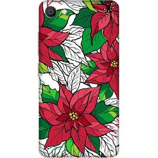 Print Opera Hard Plastic Designer Printed Phone Cover for Vivo X7 Colorful flowers