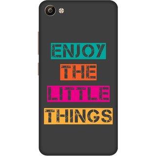 Print Opera Hard Plastic Designer Printed Phone Cover for Vivo V5 Plus Enjoy the little things