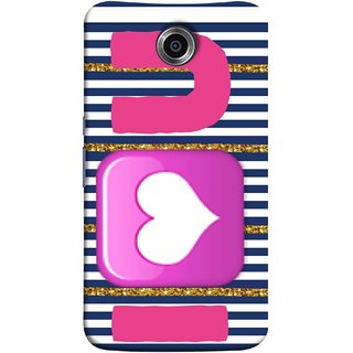 FUSON Designer Back Case Cover For Motorola Nexus 6 :: Motorola Nexus X :: Motorola Moto X Pro :: Google Nexus 6 (I Love Prem Pyar Lovers Pink Red Hearts Horizontal)