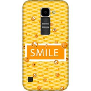 Print Opera Hard Plastic Designer Printed Phone Cover for Lg K10 Smile