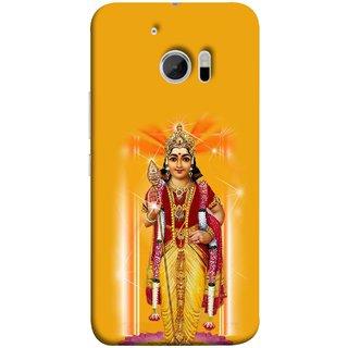 FUSON Designer Back Case Cover For HTC 10 :: HTC One M10 (Maryada Purshottam Hindu God Lotus Vishnu )