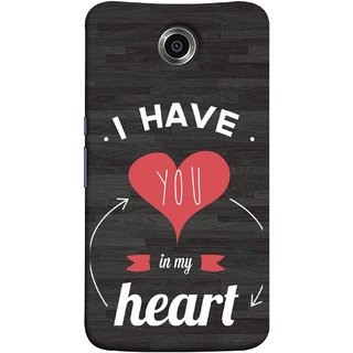 FUSON Designer Back Case Cover For Motorola Nexus 6 :: Motorola Nexus X :: Motorola Moto X Pro :: Google Nexus 6 (Love Circle Life Long You Always In My Hearts)