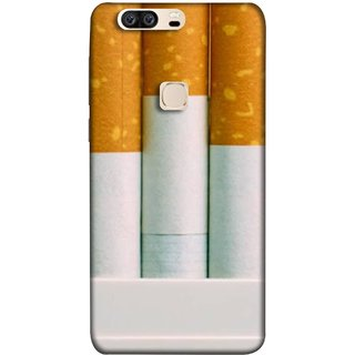 FUSON Designer Back Case Cover For Huawei Honor V8 (Pack Of Cigarettes With Cigarettes Sticking Out )