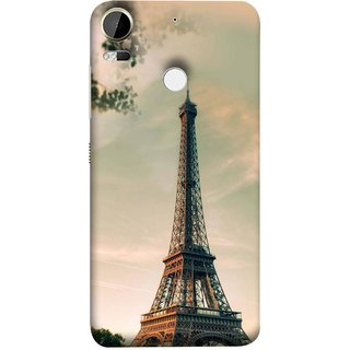 FUSON Designer Back Case Cover For HTC Desire 10 Pro ( Paris Sunrise France Tourist Place Hd Wallpaper)