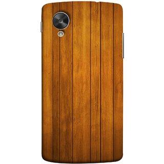 FUSON Designer Back Case Cover For LG Nexus 5 :: LG Google Nexus 5 :: Google Nexus 5 (Unique Wooden Pine Background Vintage Table Tiles)