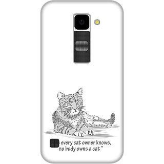 Print Opera Hard Plastic Designer Printed Phone Cover for Lg K10 Cat