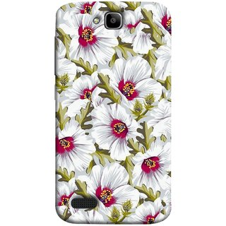 FUSON Designer Back Case Cover For Huawei Honor Holly (Floral Patterns Digital Textiles Florals Design Patterns)