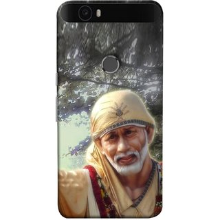 FUSON Designer Back Case Cover For Huawei Nexus 6P :: Huawei Google Nexus 6P (Shirdi Wale Sai Baba Sainath God Shradha Saburi Pooja)