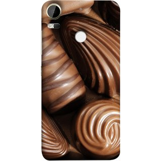 FUSON Designer Back Case Cover For HTC Desire 10 Pro (Big Size Different Shapes Diy Silicone Handmade )