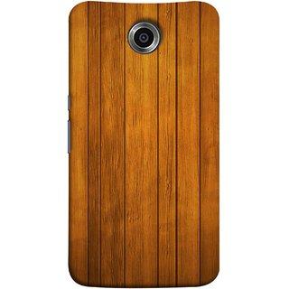 FUSON Designer Back Case Cover For Motorola Nexus 6 :: Motorola Nexus X :: Motorola Moto X Pro :: Google Nexus 6 (Unique Wooden Pine Background Vintage Table Tiles)