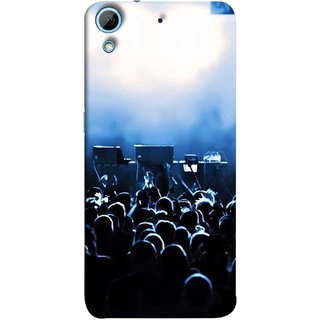 FUSON Designer Back Case Cover For HTC Desire 626G :: HTC Desire 626 Dual SIM :: HTC Desire 626S :: HTC Desire 626 USA :: HTC Desire 626G+ :: HTC Desire 626G Plus (Dancers Singers Instruments Piano Musical Concert)