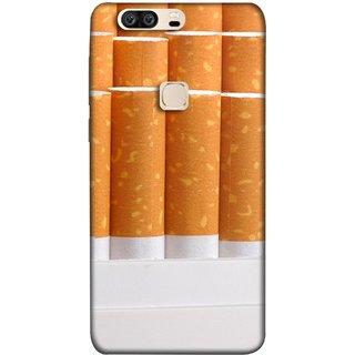 FUSON Designer Back Case Cover For Huawei Honor V8 (Cigarettes Case White Tobacco Foreign Lighter Light)