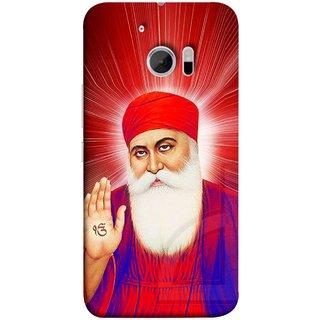 FUSON Designer Back Case Cover For HTC 10 :: HTC One M10 (Guruji Beautiful Frame God His Mission Blesses)